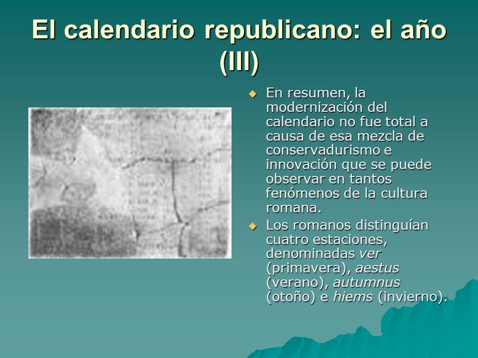 El calendario republicano: el año (III)