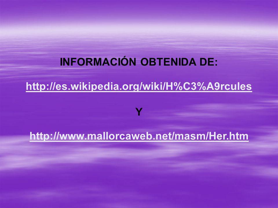 INFORMACIÓN OBTENIDA DE:
