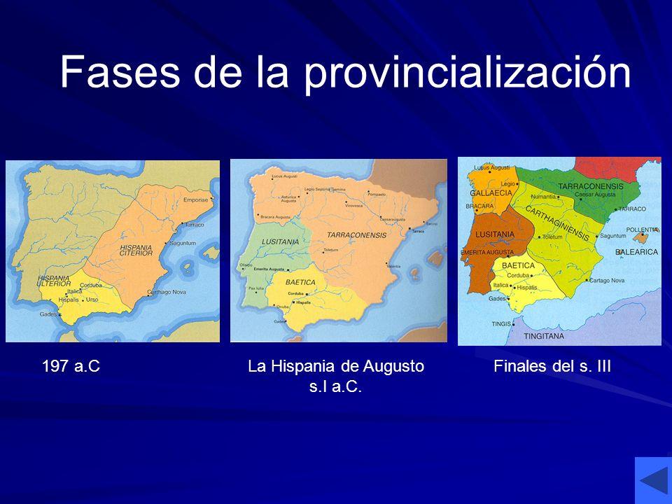 La Hispania de Augusto s.I a.C.