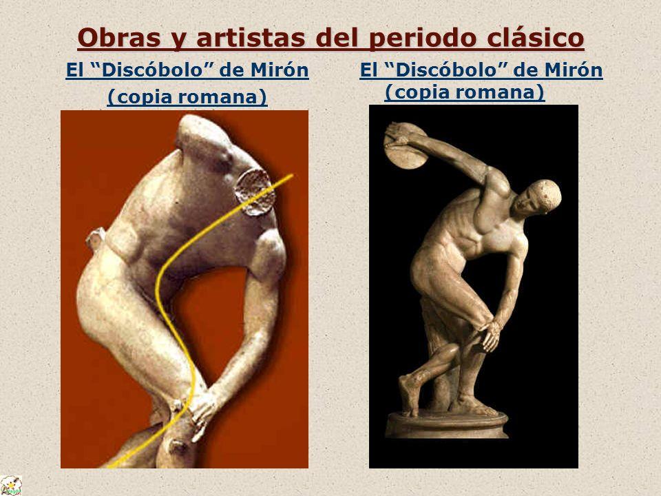 Obras y artistas del periodo clásico