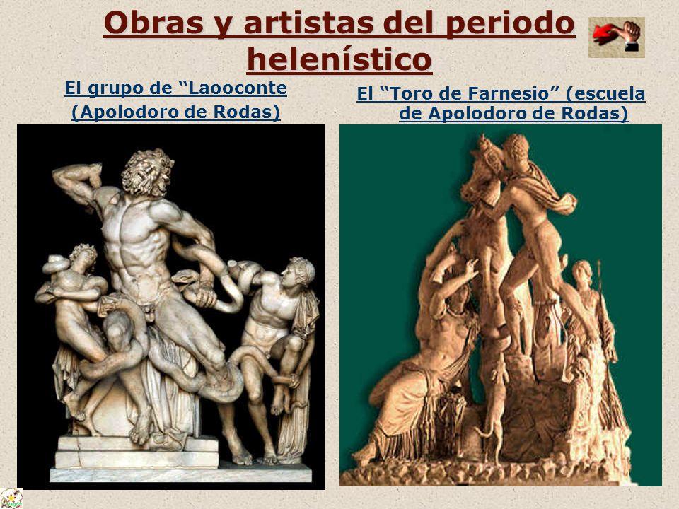 Obras y artistas del periodo helenístico