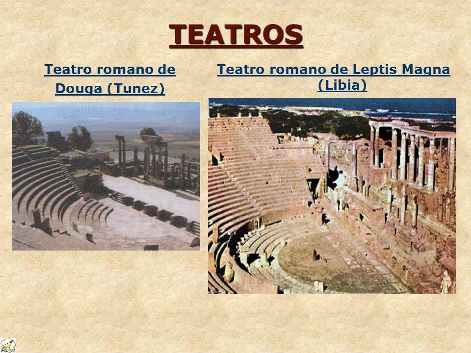 Teatro romano de Leptis Magna (Libia)
