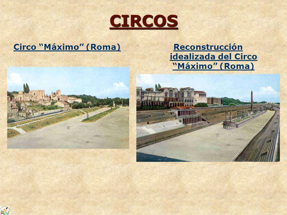 Reconstrucción idealizada del Circo Máximo (Roma)