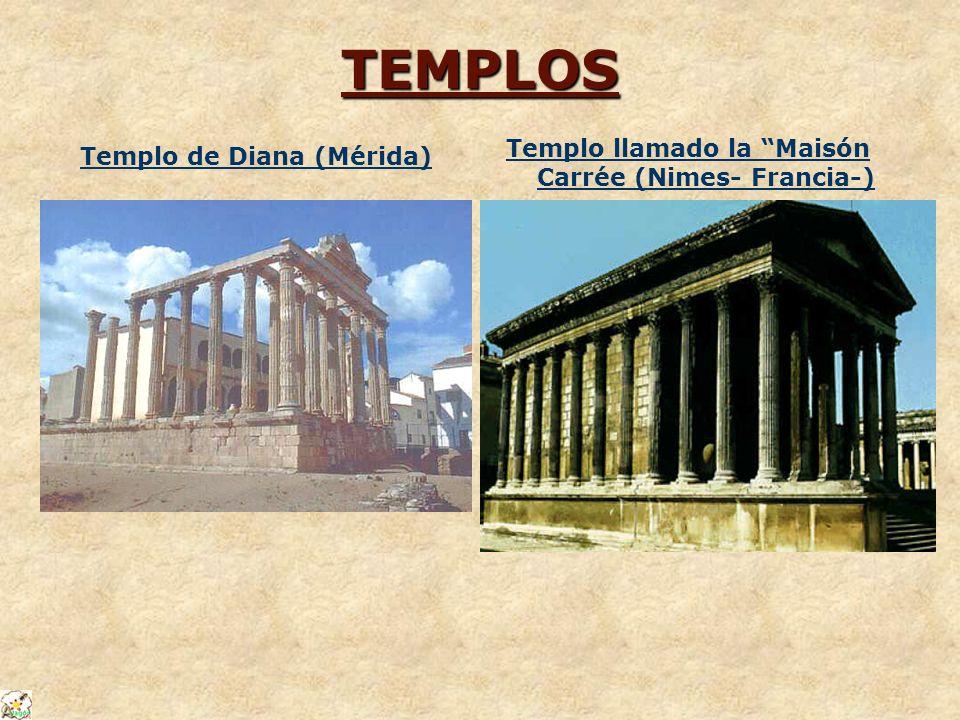 TEMPLOS Templo llamado la Maisón Carrée (Nimes- Francia-)