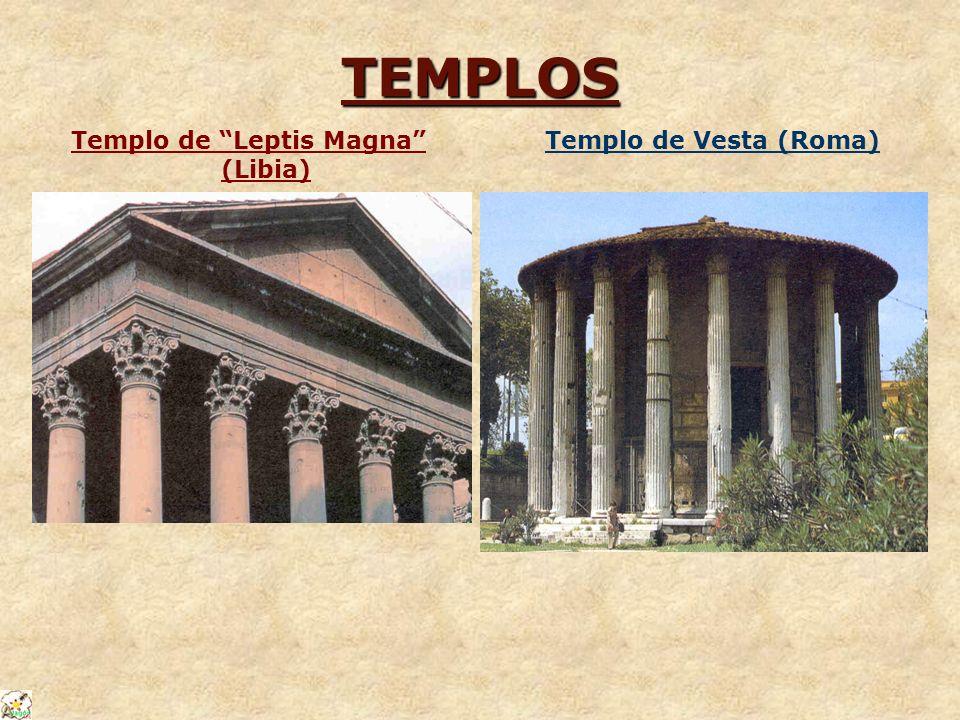 Templo de Leptis Magna (Libia)