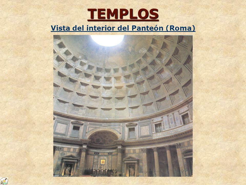 Vista del interior del Panteón (Roma)