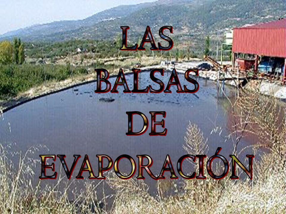 LAS BALSAS DE EVAPORACIÓN