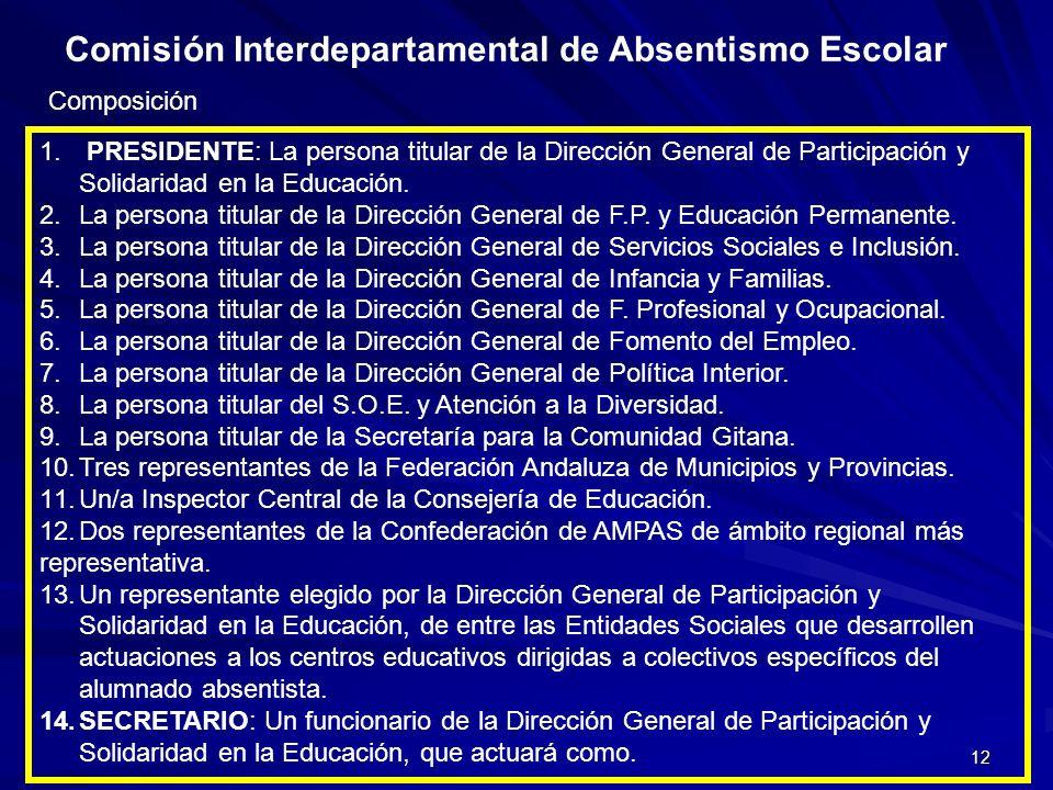 Comisión Interdepartamental de Absentismo Escolar