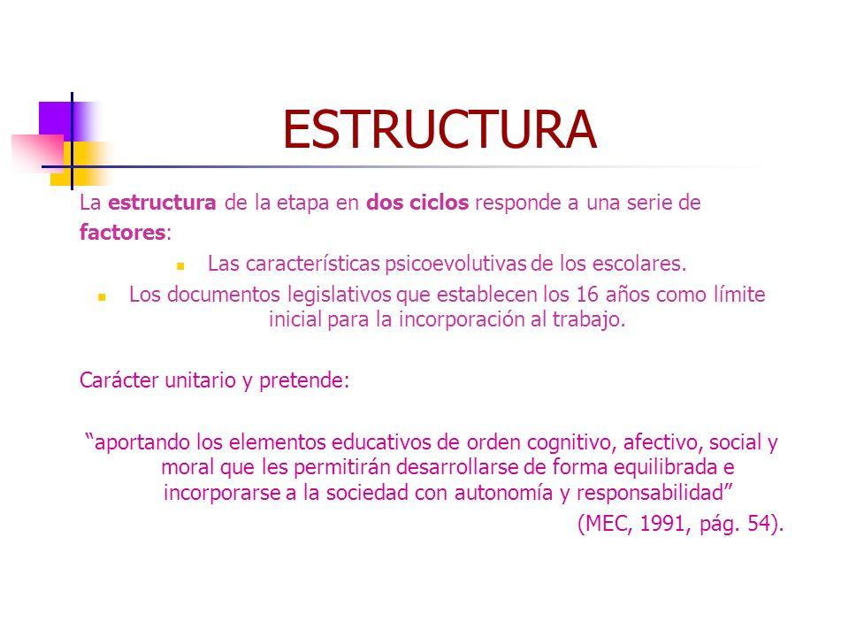 Las características psicoevolutivas de los escolares.