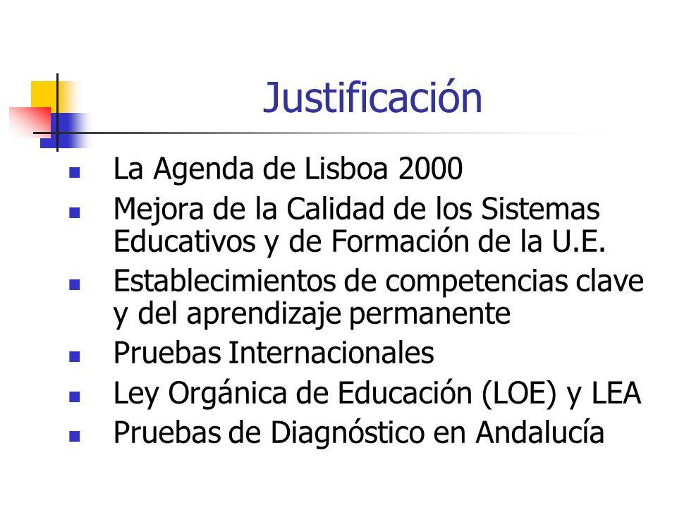Justificación La Agenda de Lisboa 2000