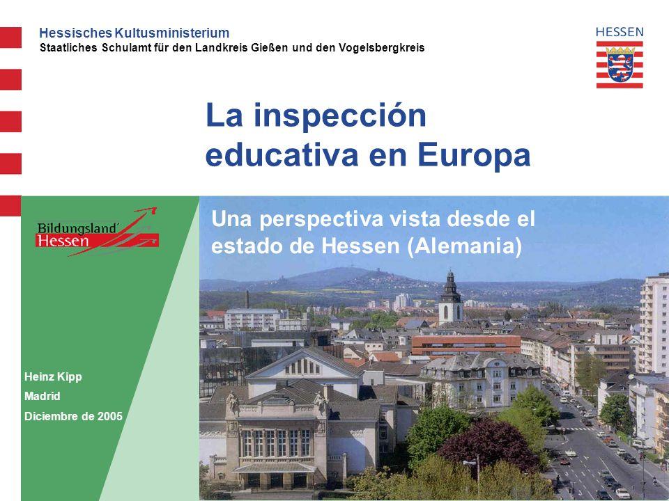 La inspección educativa en Europa