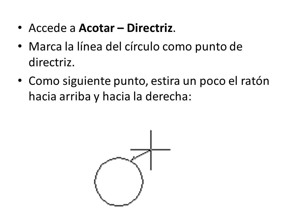 Accede a Acotar – Directriz.