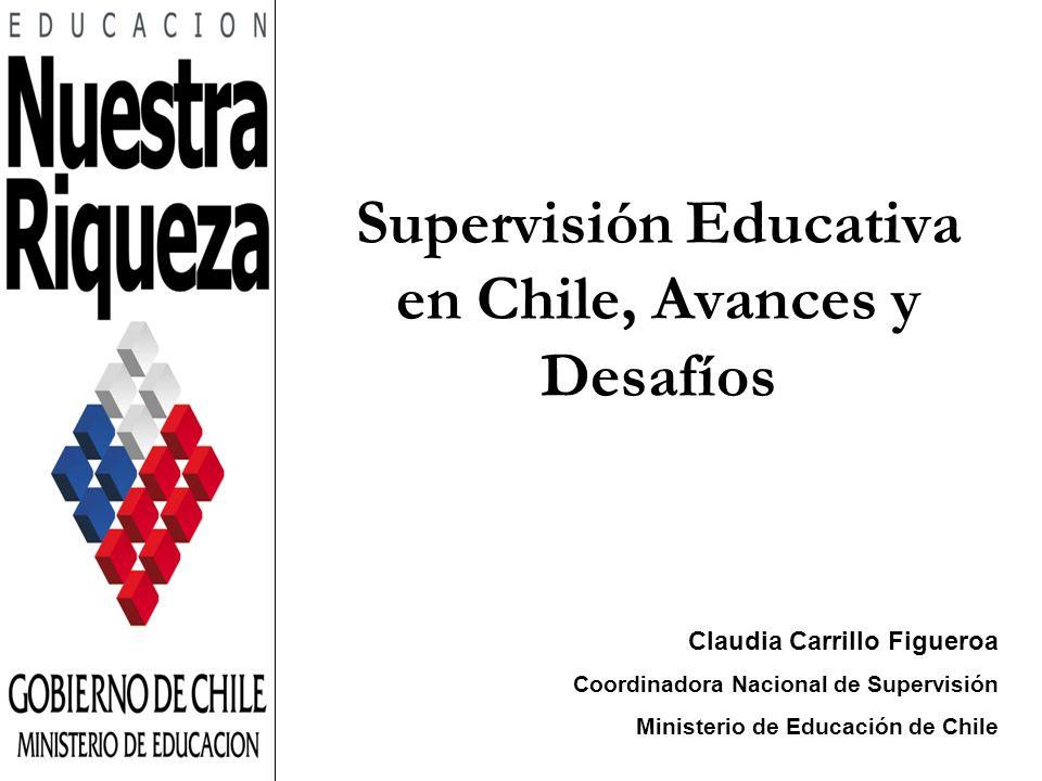 Supervisión Educativa en Chile, Avances y Desafíos