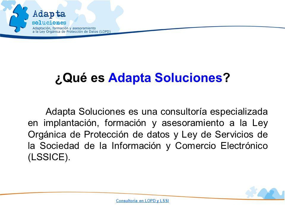 ¿Qué es Adapta Soluciones