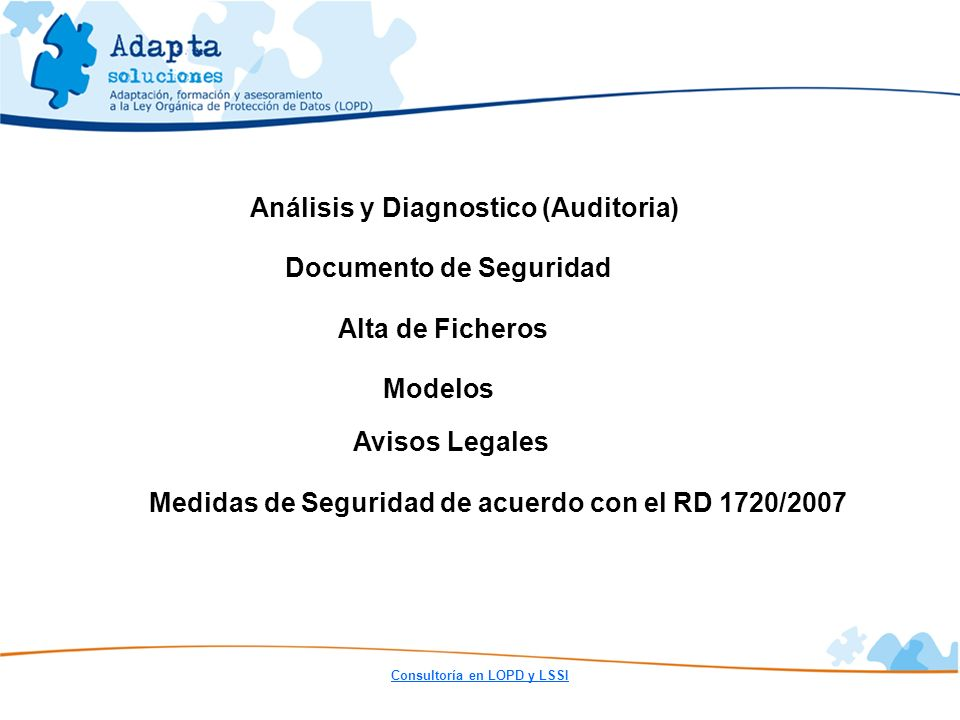 Análisis y Diagnostico (Auditoria)