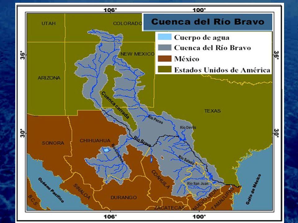 La cuenca internacional del Río Bravo