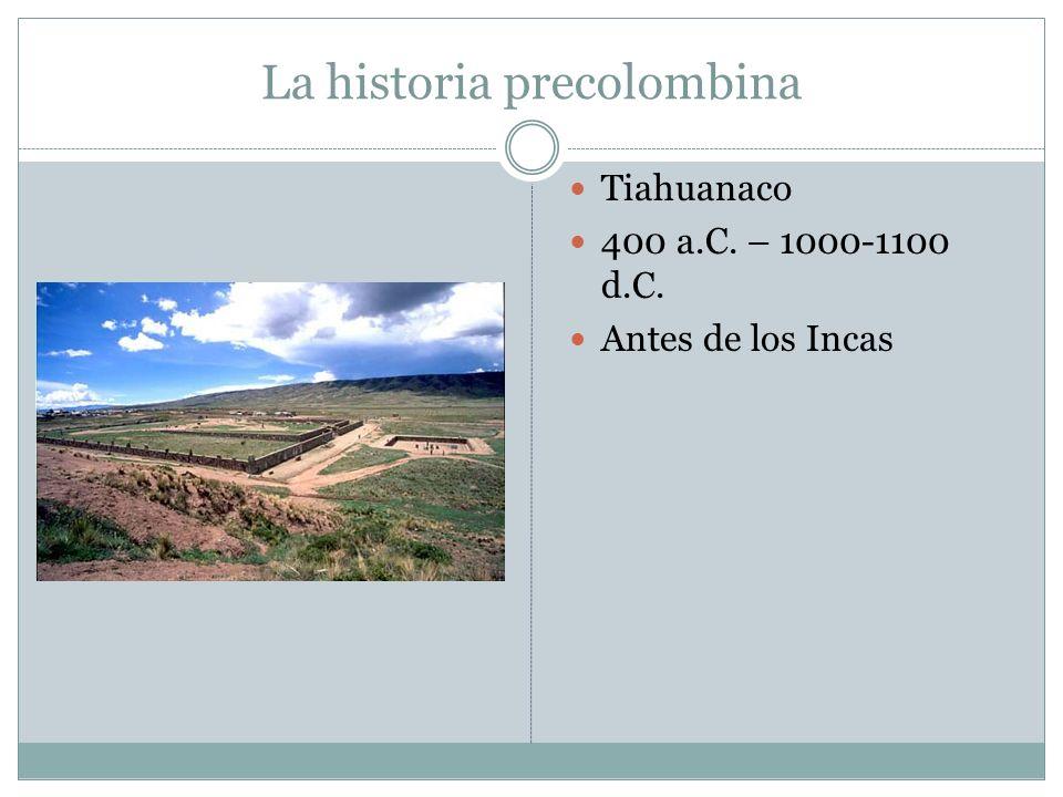 La historia precolombina