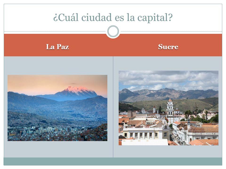 ¿Cuál ciudad es la capital