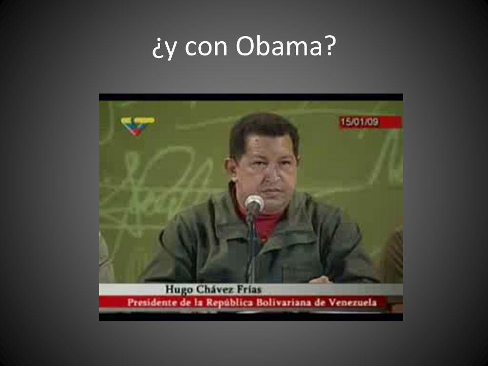 ¿y con Obama