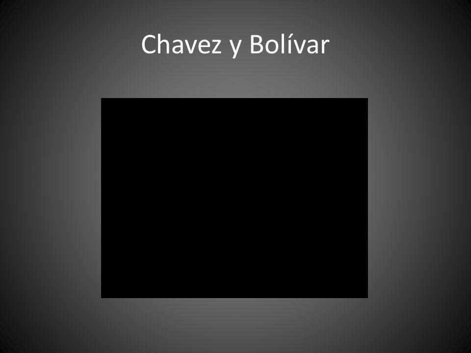 Chavez y Bolívar
