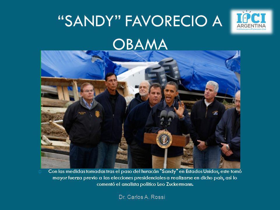 SANDY FAVORECIO A OBAMA