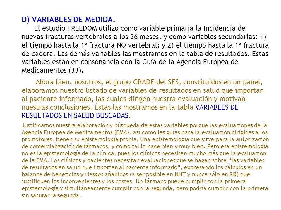 D) VARIABLES DE MEDIDA.
