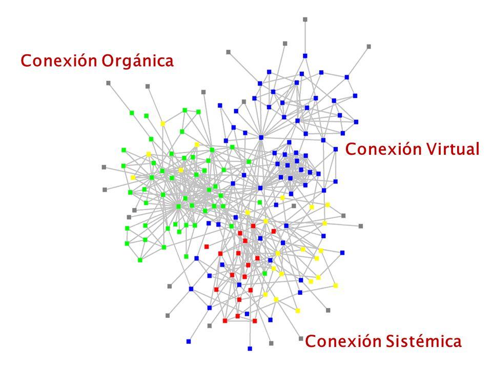 Conexión Orgánica Conexión Virtual Conexión Sistémica