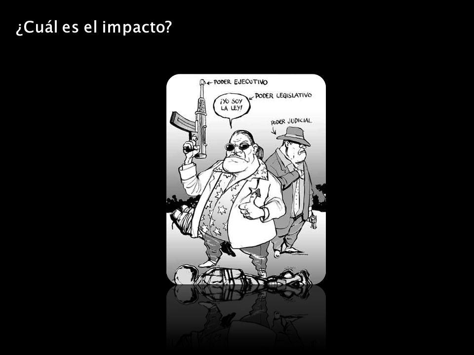 ¿Cuál es el impacto