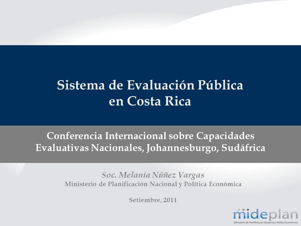 Sistema de Evaluación Pública en Costa Rica