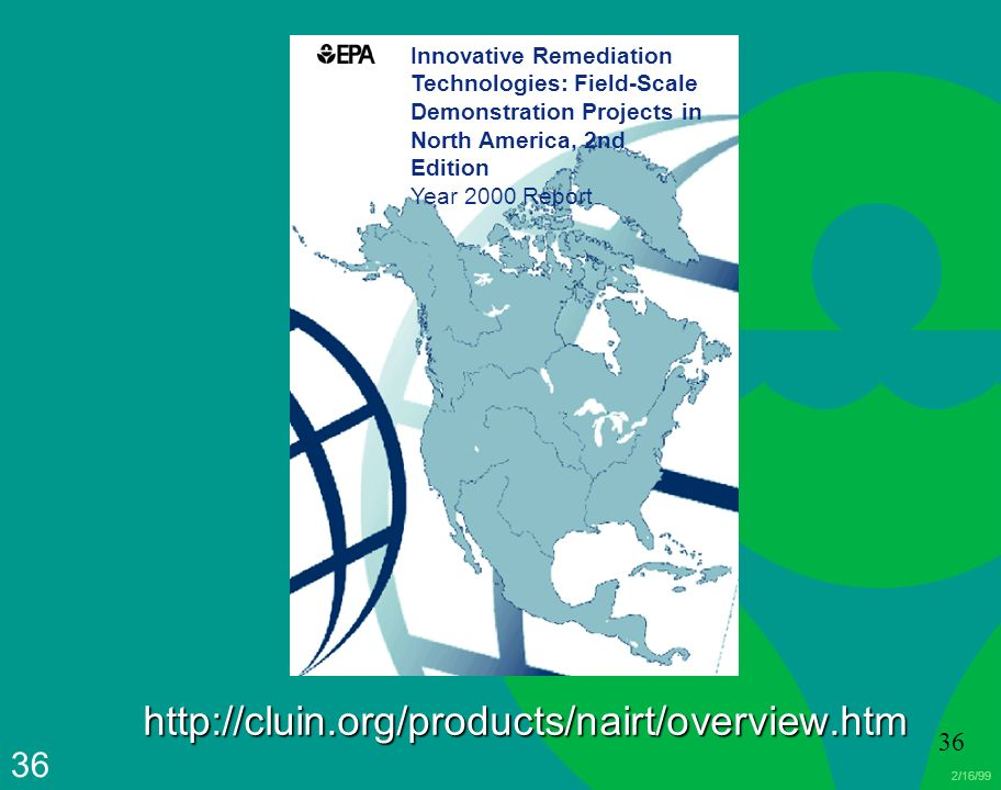 Innovative Remediation Technologies: Field-Scale Demonstration Projects in North America, 2nd Edition