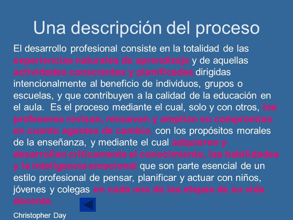 Una descripción del proceso