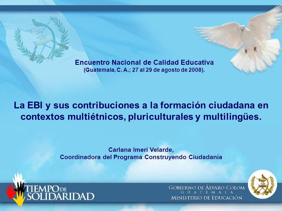Encuentro Nacional de Calidad Educativa