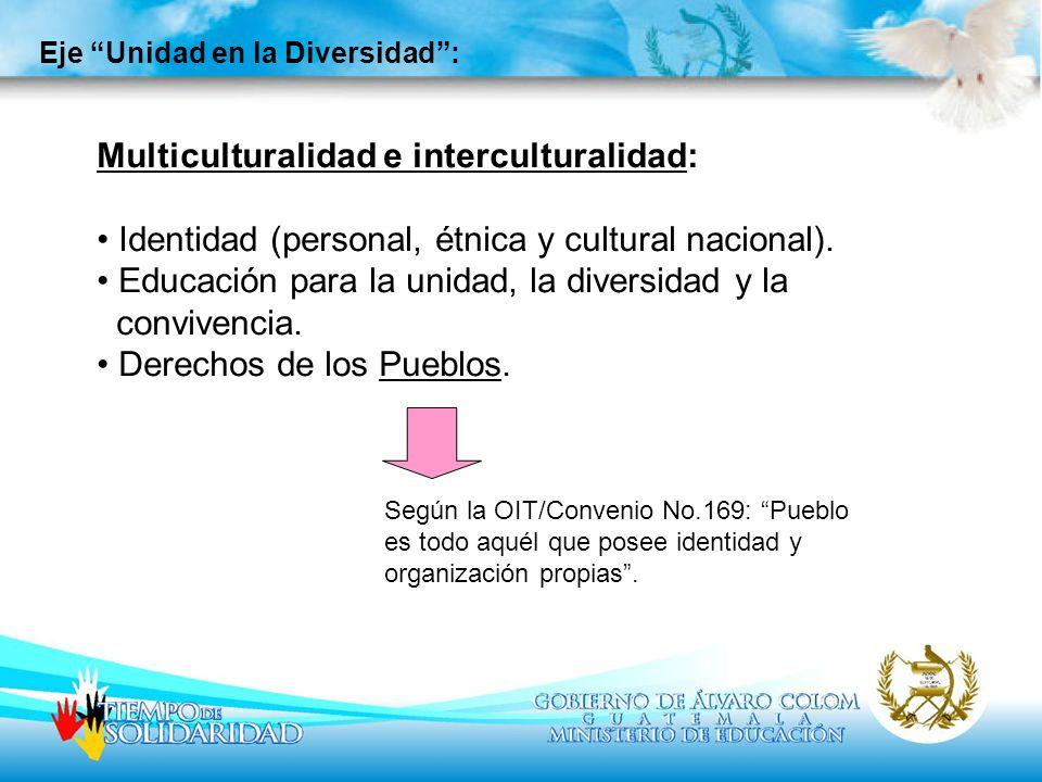 Multiculturalidad e interculturalidad: