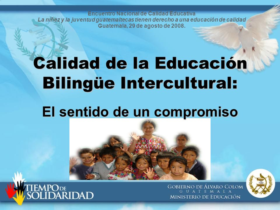 Encuentro Nacional de Calidad Educativa El sentido de un compromiso