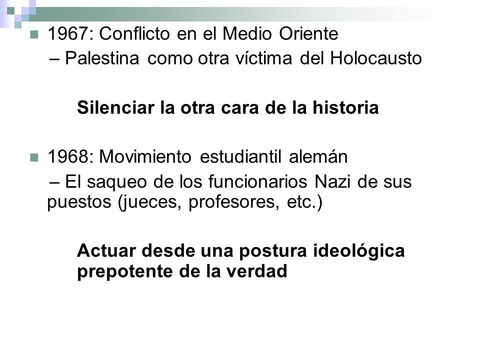 1967: Conflicto en el Medio Oriente