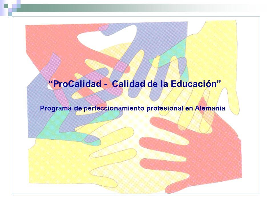 ProCalidad - Calidad de la Educación