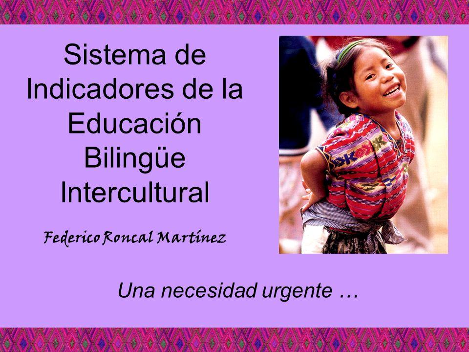 Sistema de Indicadores de la Educación Bilingüe Intercultural