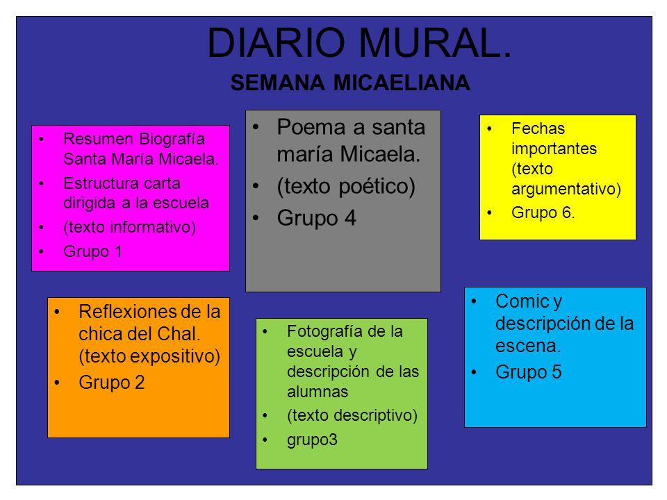 Mural diario juguemos a informar ppt descargar for Estructura del periodico mural wikipedia