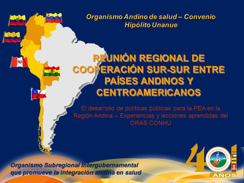 Organismo Andino de salud – Convenio Hipólito Unanue