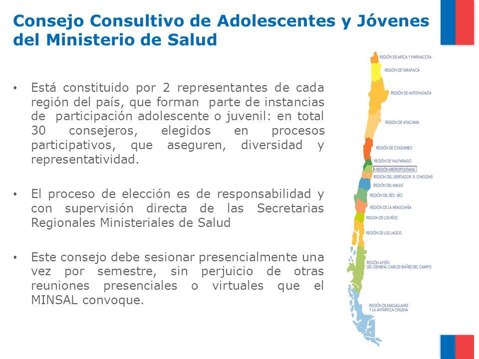 Consejo Consultivo de Adolescentes y Jóvenes del Ministerio de Salud