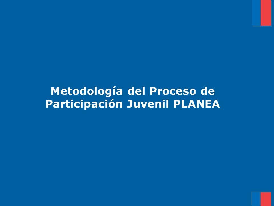 Metodología del Proceso de Participación Juvenil PLANEA