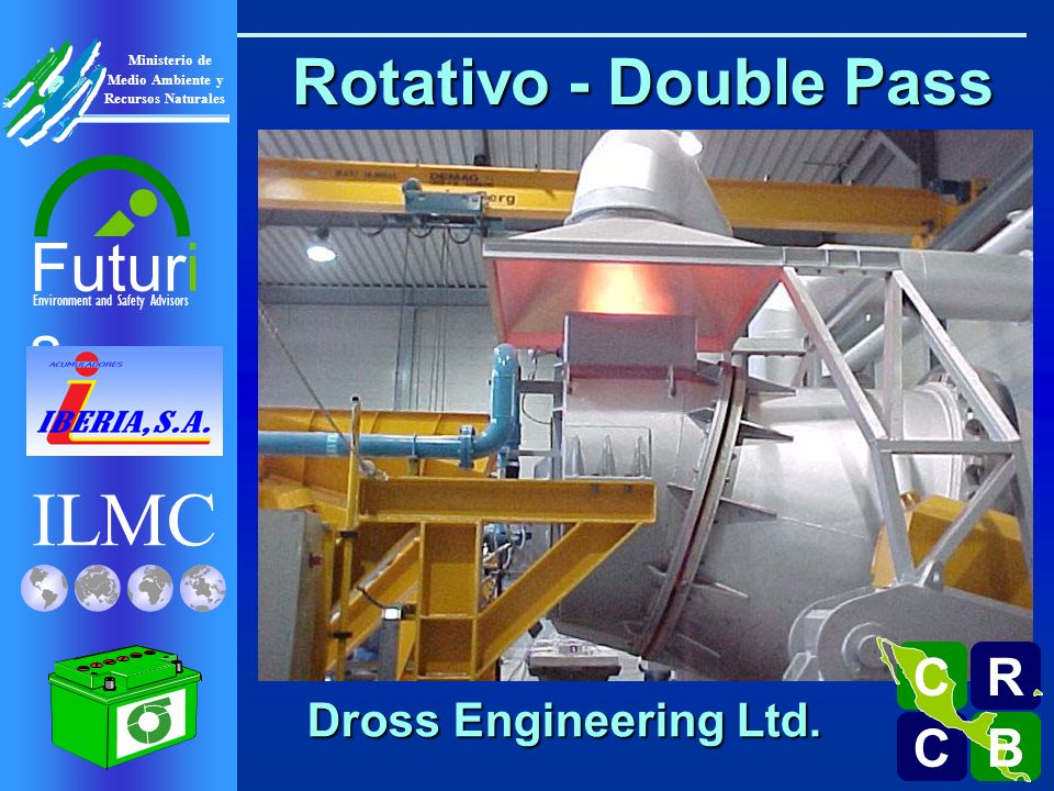 Rotativo - Double Pass R C B Dross Engineering Ltd.