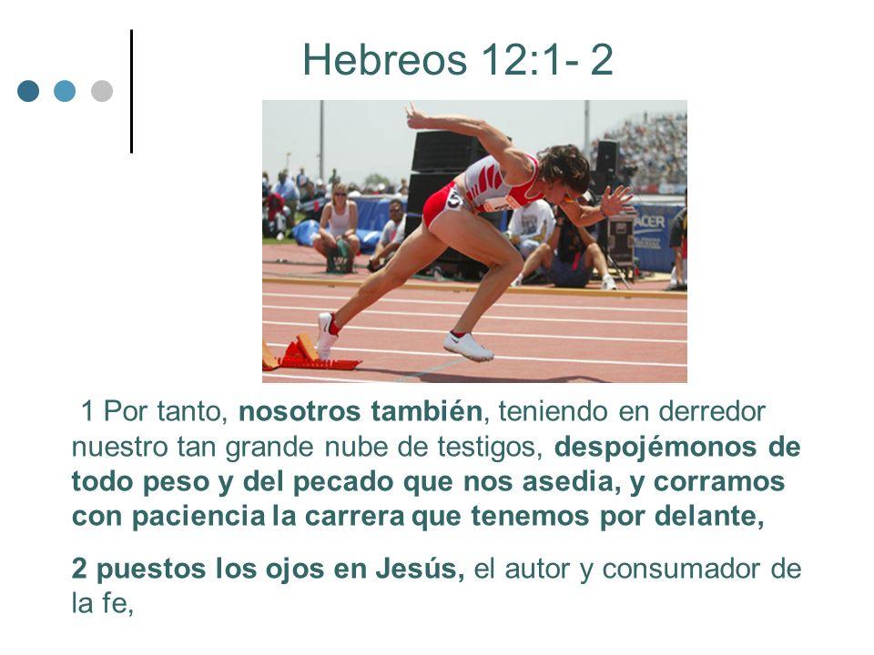 Hebreos 12:1- 2