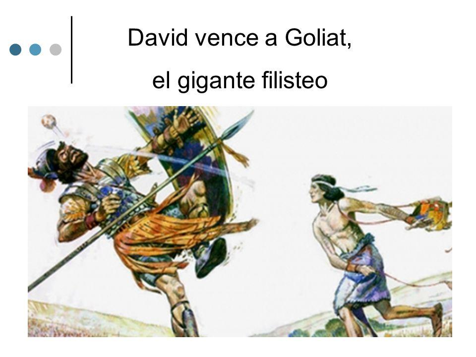 David vence a Goliat, el gigante filisteo