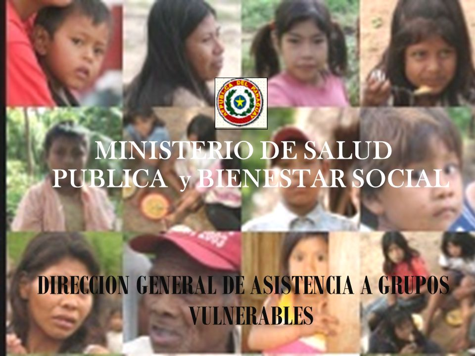 DIRECCION GENERAL DE ASISTENCIA A GRUPOS VULNERABLES