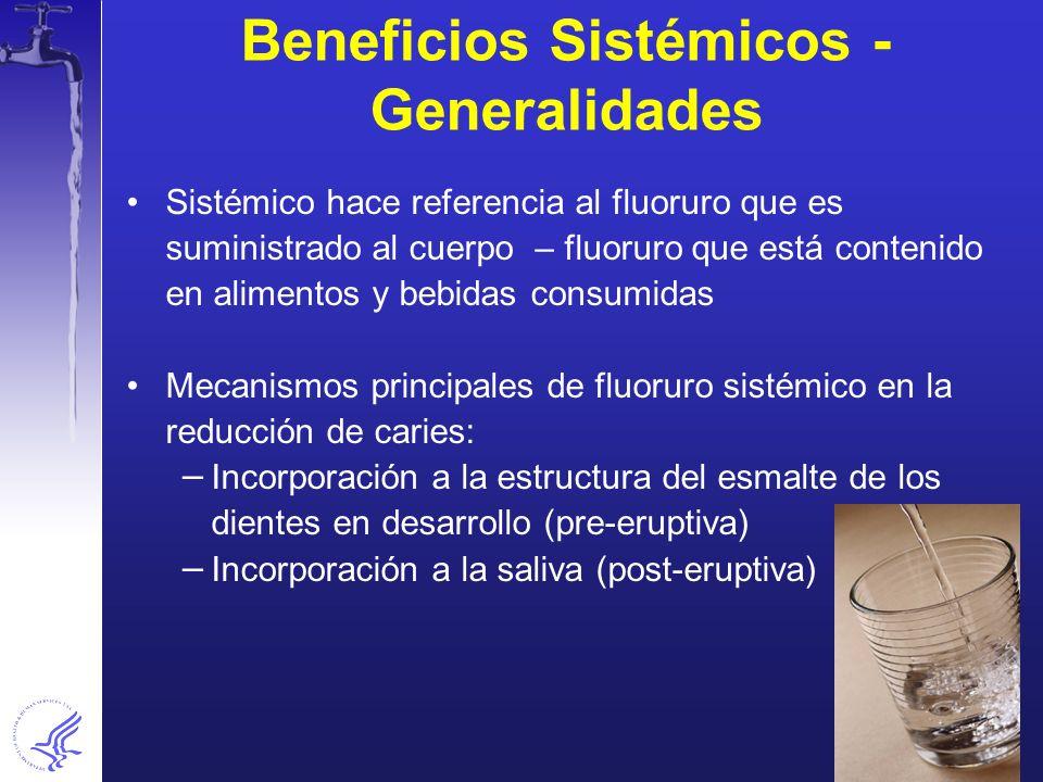 Beneficios Sistémicos - Generalidades