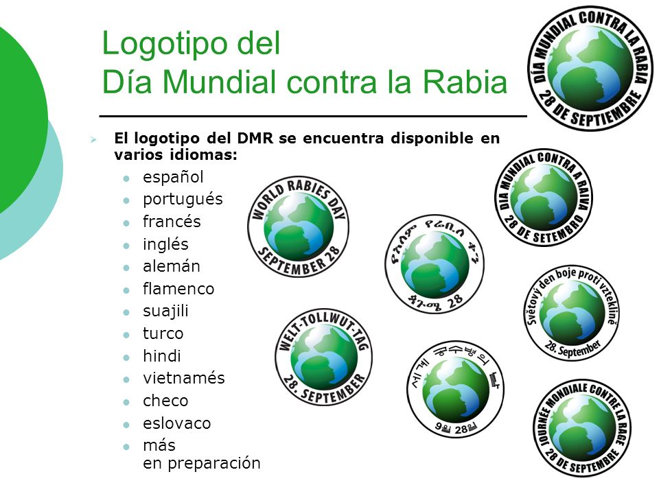 Logotipo del Día Mundial contra la Rabia