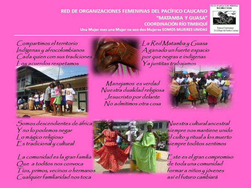 RED DE ORGANIZACIONES FEMENINAS DEL PACÍFICO CAUCANO MATAMBA Y GUASA