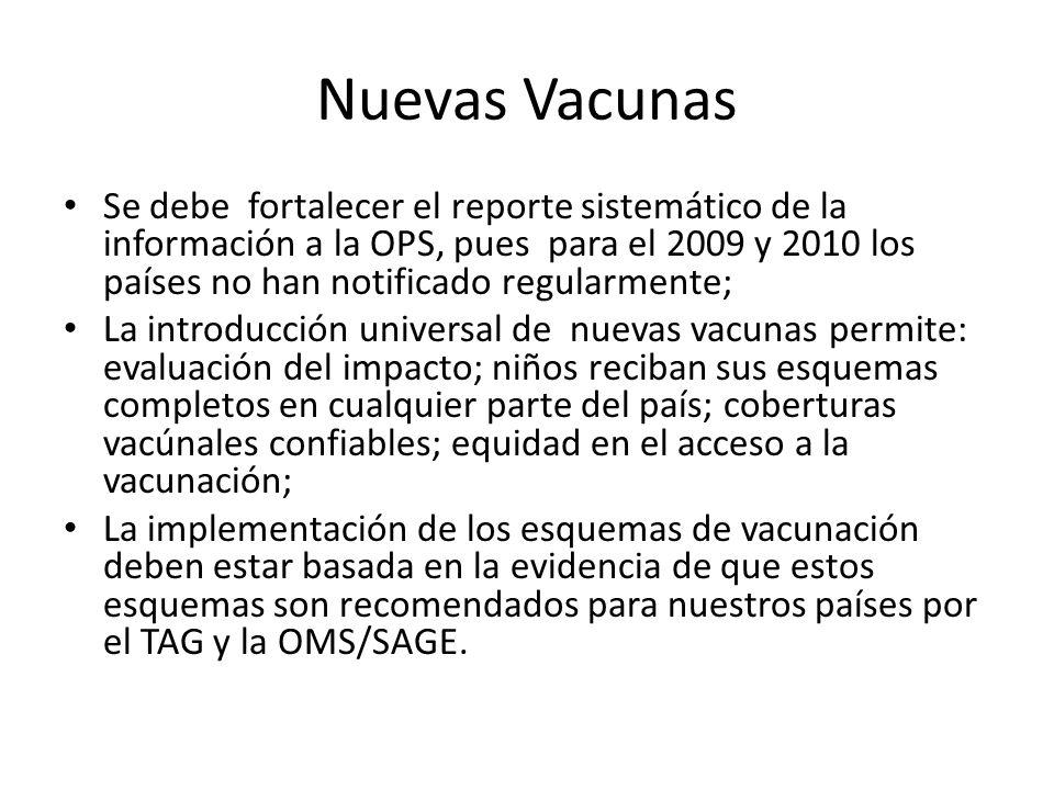 Nuevas Vacunas