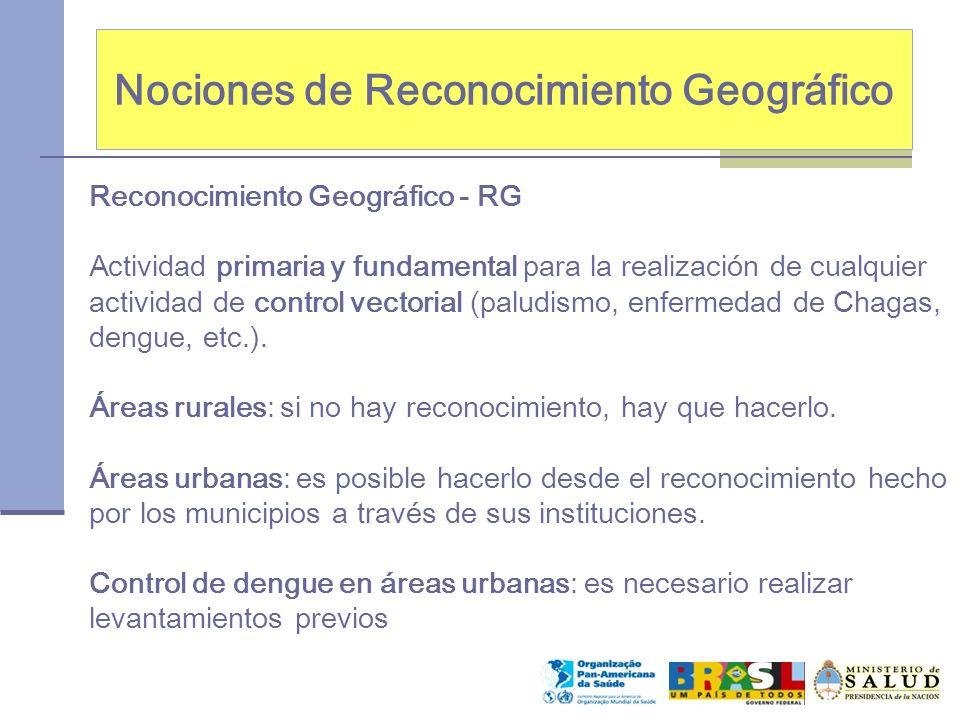 Nociones de Reconocimiento Geográfico